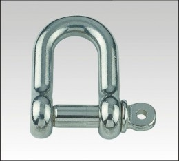 S.S D-Shackle, Screw Pin