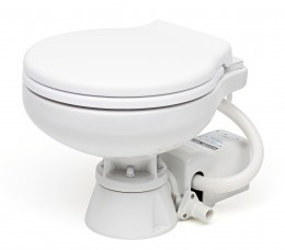 Electric Marine Toilet, Compact Bowl 12v